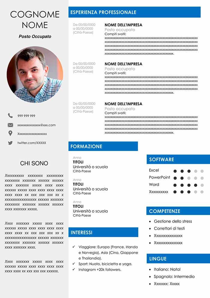 108-curriculum-vitae-ingegnere Formato Europeo Per Il Curriculum Vitae Da Compilare on