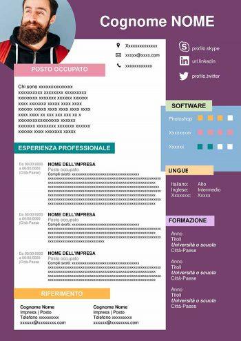 curriculum grafico
